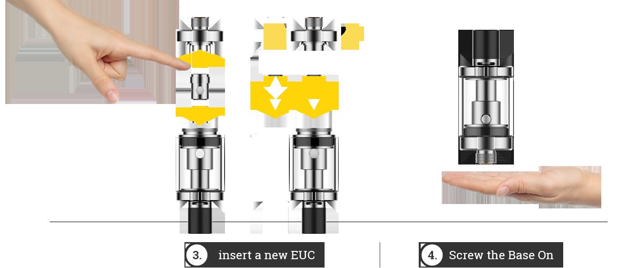 Hoe coil vervangen, dampen, vapen, Vaporesso handleiding