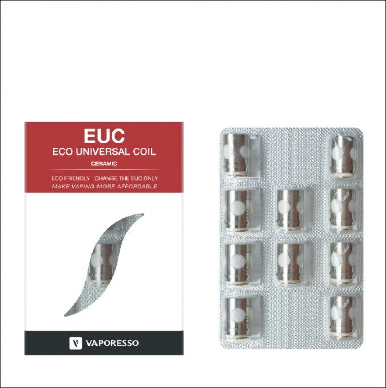 Vapen, dampen, Coils voor E-sigaretten