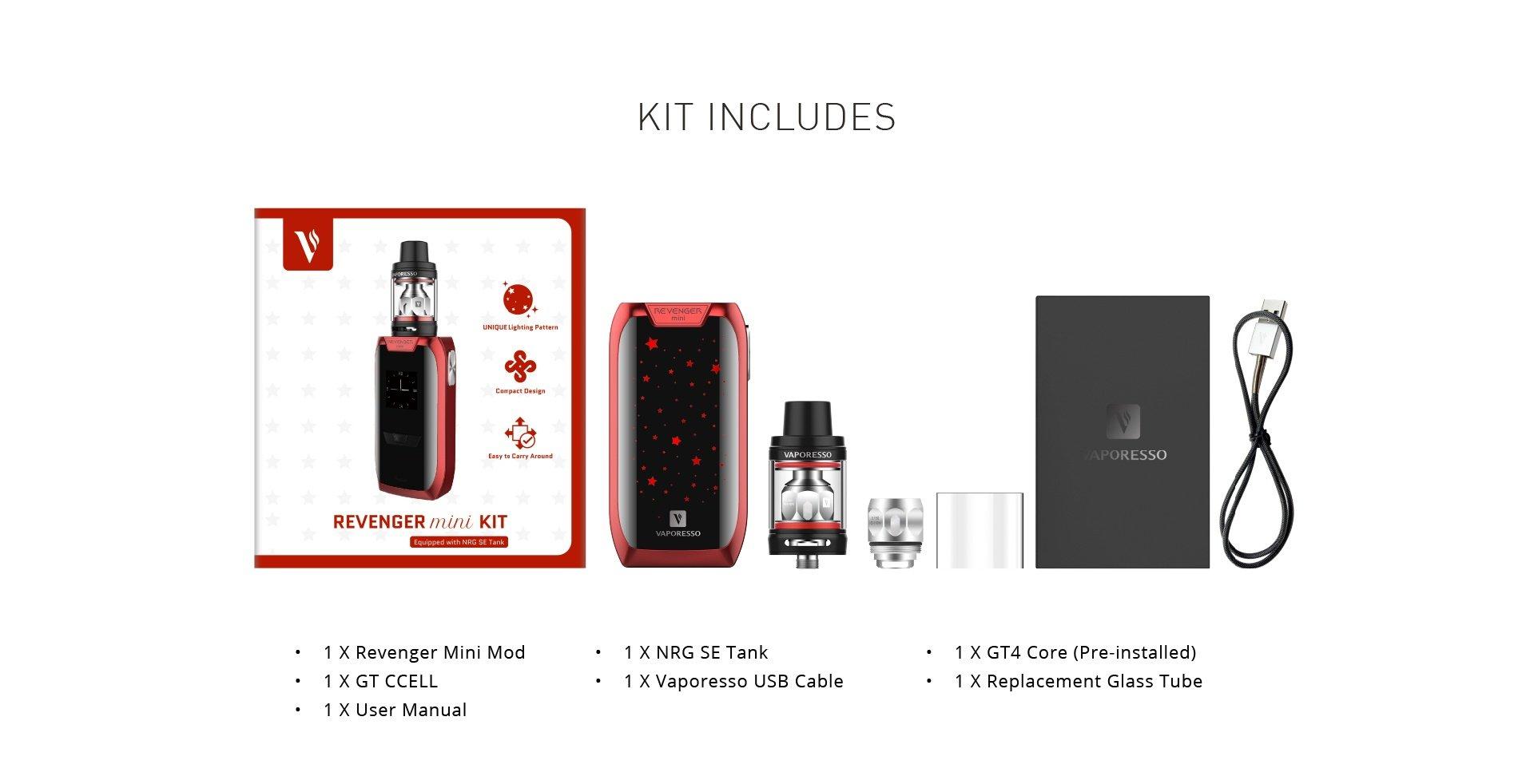 Vaporesso Revenger Mini kopen, Vaporesso Revenger Mini kopen Belgie, Vaporesso Revenger Mini kopen Nederland, Vaporesso Revenger kit Mini