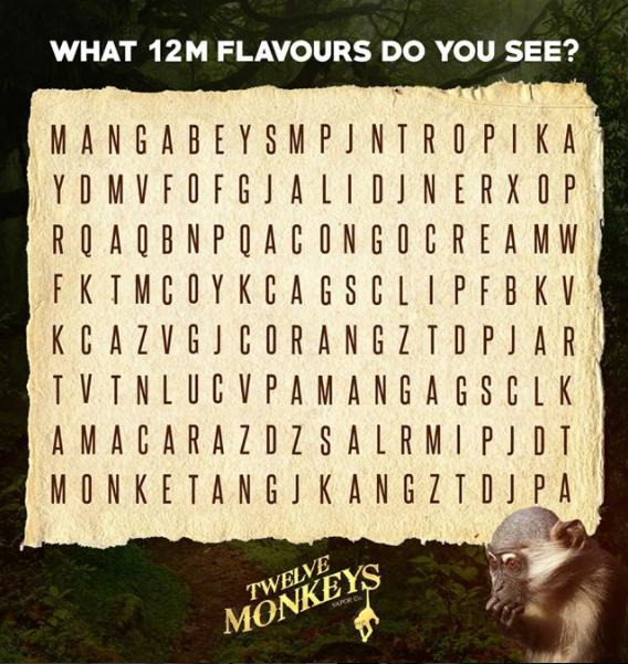 12 Monkeys eliquid kopen, 12 Monkeys eliquid kopen Belgie, 12 Monkeys eliquid kopen Nederland, Twelve Monkeys eliquid kopen, Twelve Monkeys eliquid kopen Belgie, Twelve Monkeys boost n vape,