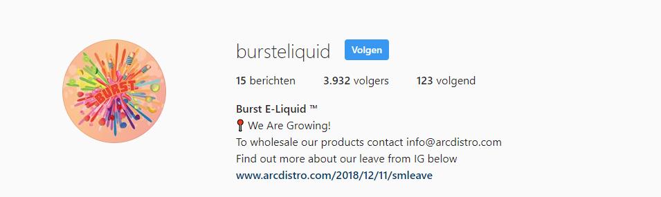 Burst eliquid kopen, Burst eliquid kopen Belgie, Burst eliquid kopen Nederland, Burst eliquid Belgie, Burst eliquid Nederland, Burst DUO eliquid kopen, Burst DUO eliquid kopen Belgie, Burst DUO eliquid kopen Nederland