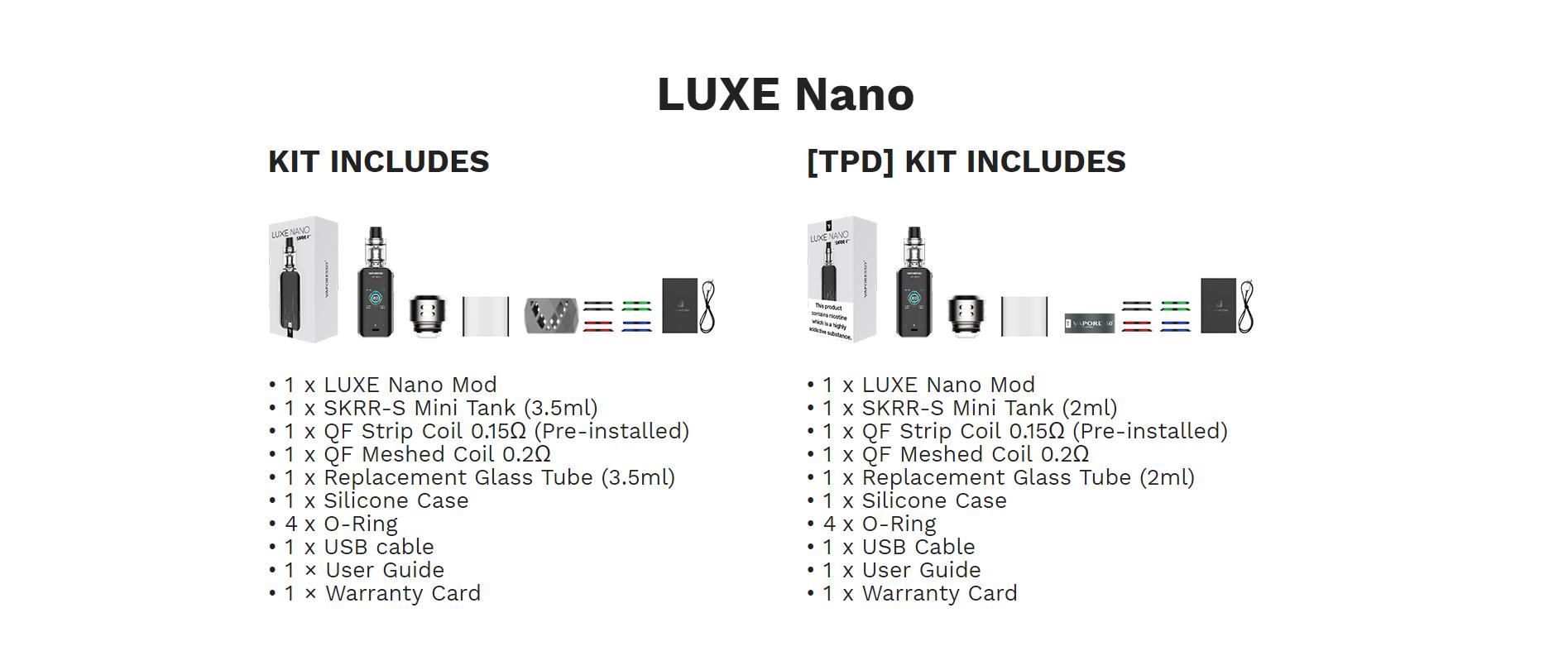 Vaporesso Luxe Nano Kit kopen, Vaporesso Luxe Nano Kit kopen Belgie, Vaporesso Luxe Nano Kit kopen Nederland, Vaporesso Luxe Nano Kit Belgie, Vaporesso Luxe Nano Kit Nederland